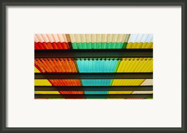 Off The Grid Framed Print By Skip Hunt