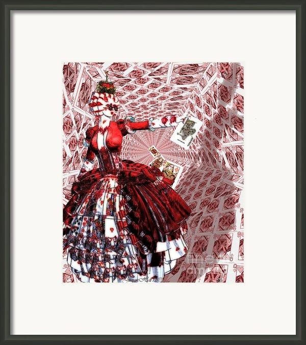 Off With Their Heads Framed Print By Rosy Hall