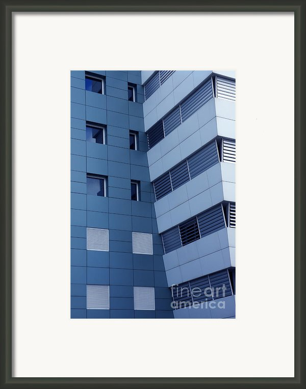 Office Building Framed Print By Carlos Caetano