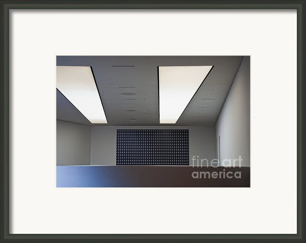 Office Ceiling Framed Print By David Buffington