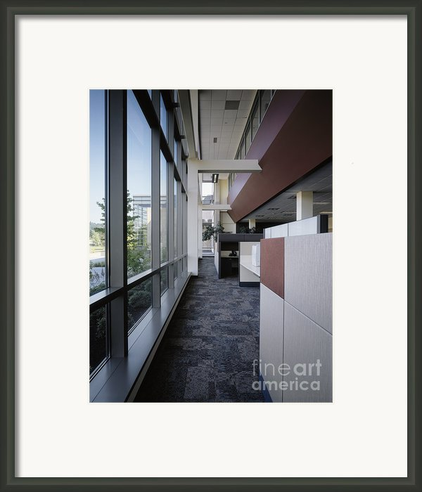 Office Framed Print By Robert Pisano