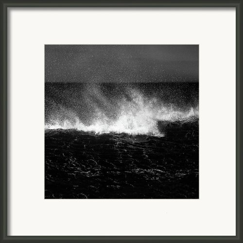 Offshore Framed Print By David Bowman