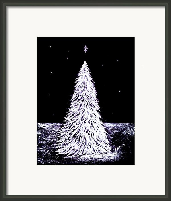 Oh Christmas Tree Framed Print By Diane Frick
