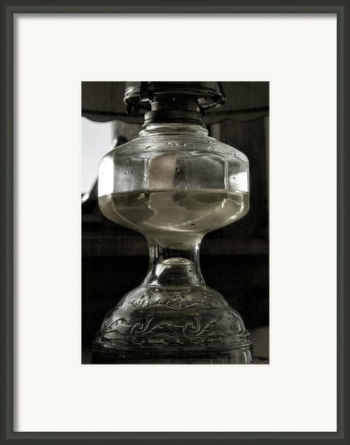 Oil Lamp I Framed Print By Steven Ainsworth