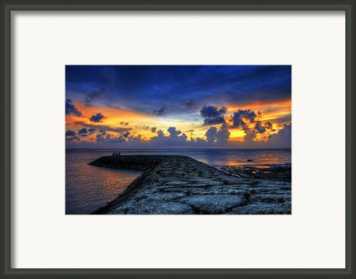 Okinawan Sunset Framed Print By Ryan Wyckoff