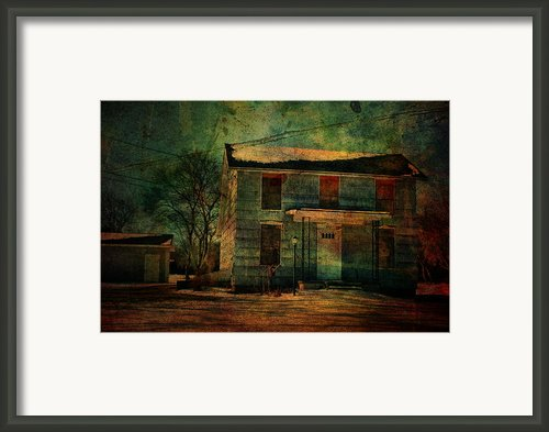 Old Blue Framed Print By Emily Stauring