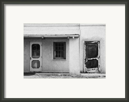 Old Buiding Near Silver City Framed Print By Bob Russman