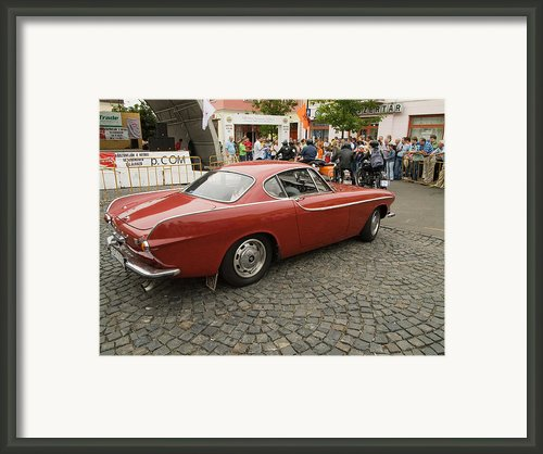 Old Car Volvo Framed Print By Odon Czintos