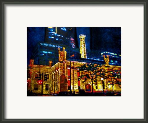 Old Chicago Pumping Station Framed Print By Michael Durst
