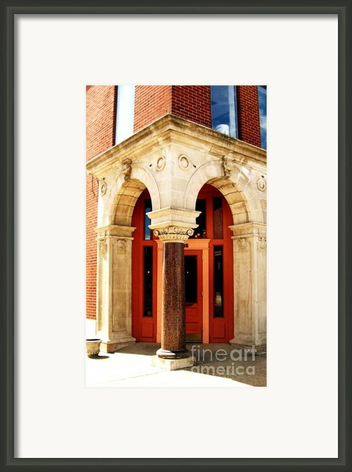 Old Czech Town Ll Framed Print By Marsha Heiken