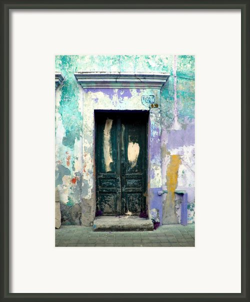 Old Door 4 By Darian Day Framed Print By Olden Mexico