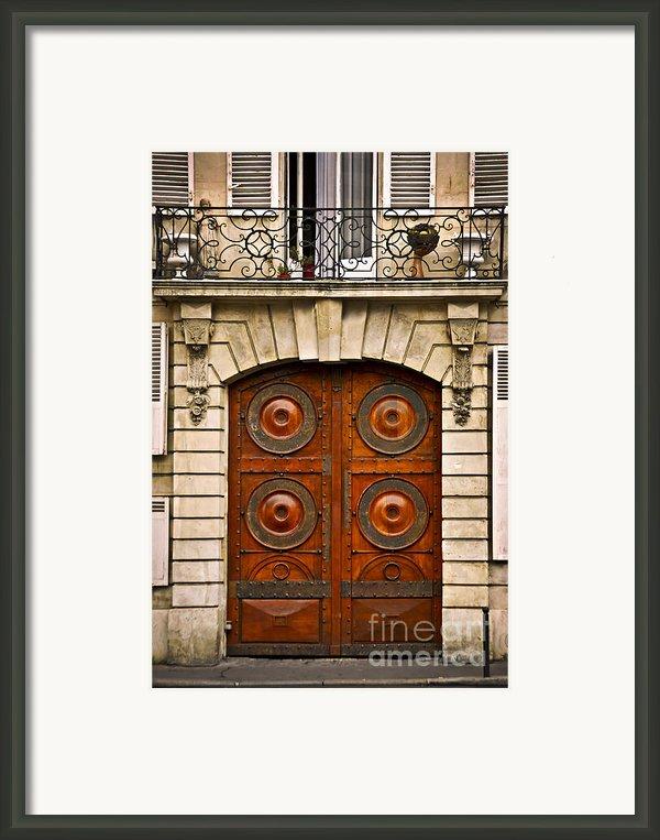 Old Doors Framed Print By Elena Elisseeva