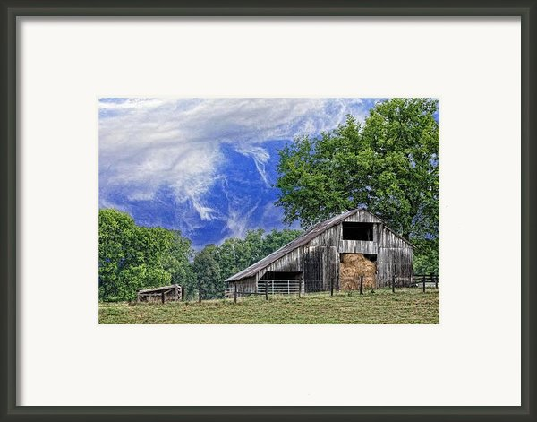 Old Hay Barn Framed Print By Jan Amiss Photography