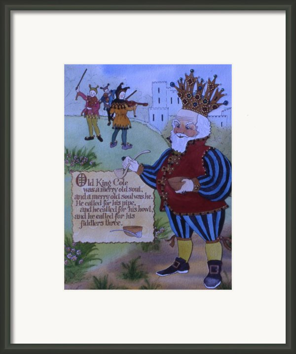 Old King Cole Framed Print By Victoria Heryet