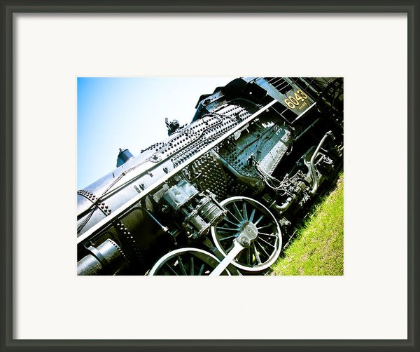 Old Locomotive 01 Framed Print By Michael Knight