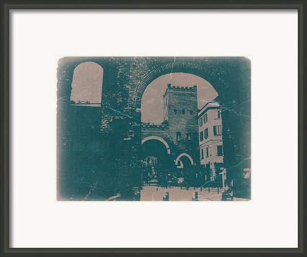 Old Milan Framed Print By Naxart Studio