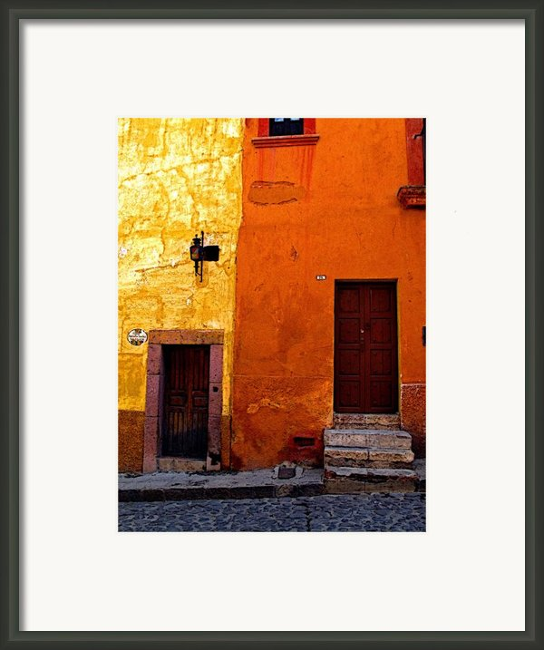 Old Neighbors Framed Print By Olden Mexico