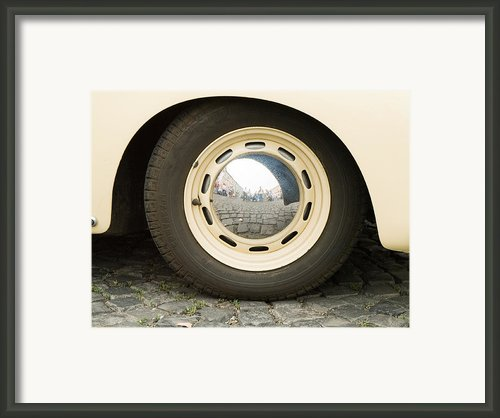Old Porche Framed Print By Odon Czintos