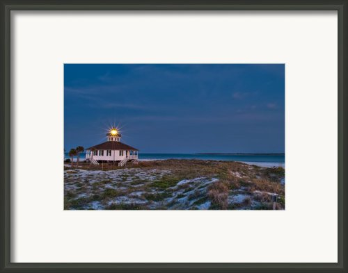 Old Port Boca Grande Lighthouse Framed Print By Rich Leighton