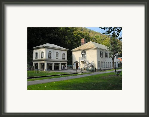Old School Bath Framed Print By
