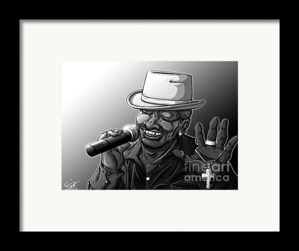 Old School Brother Framed Print By Tuan Hollaback