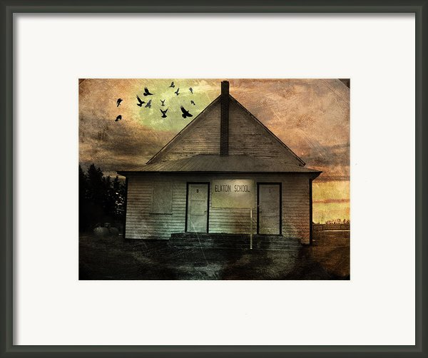 Old School Framed Print By Janet Kearns