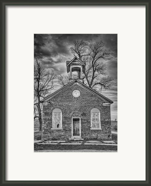 Old School Framed Print By Scott Norris
