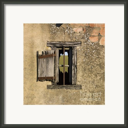 Old Shack Framed Print By Bernard Jaubert