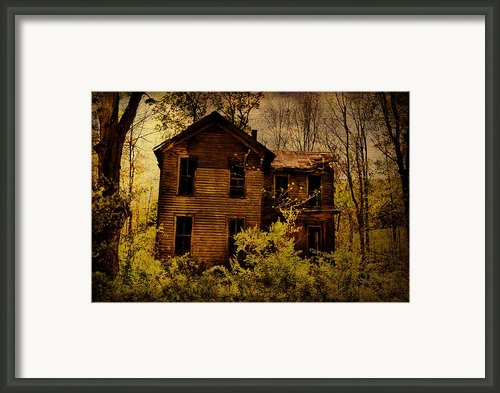 Old Stories Framed Print By Emily Stauring