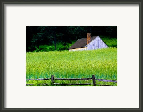 Old Sturbridge Farm Framed Print By Belinda Dodd