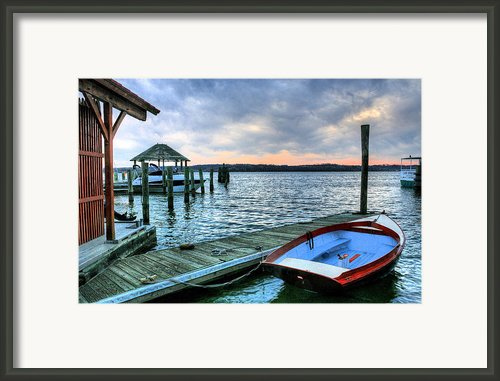 Old Town Charm Framed Print By Jc Findley