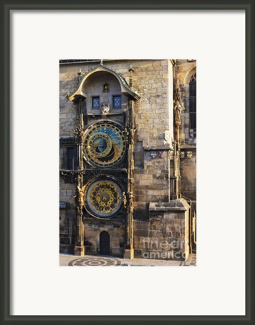 Old Town Hall Clock Framed Print By Jeremy Woodhouse