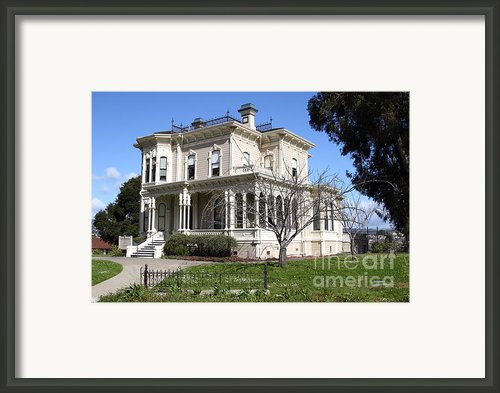 Old Victorian Camron-stanford House . Oakland California . 7d13445 Framed Print By Wingsdomain Art And Photography