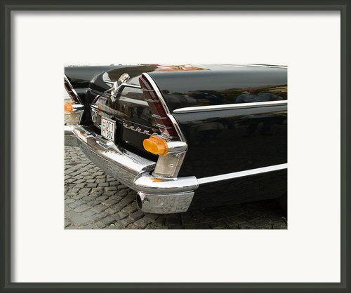 Old Volga Car Framed Print By Odon Czintos