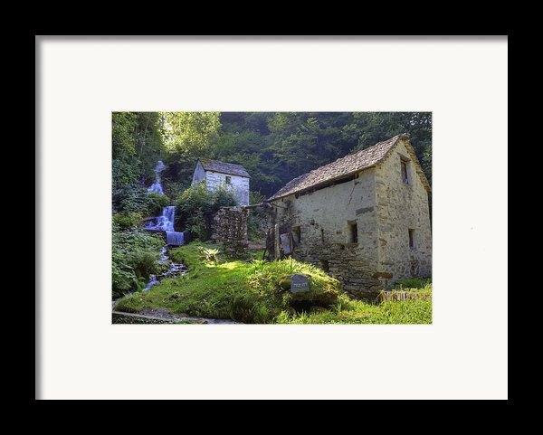 Old Watermill Framed Print By Joana Kruse