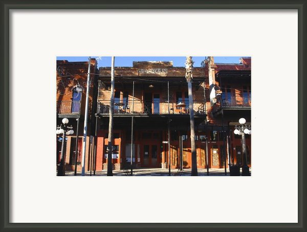 Old Ybor Framed Print By David Lee Thompson