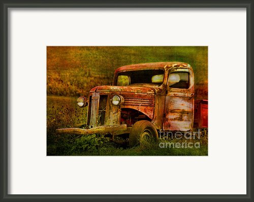Olde But Not Forgotten Framed Print By Deborah Benoit