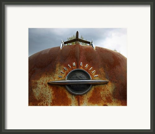 Oldsmobile Framed Print By Steve Mckinzie