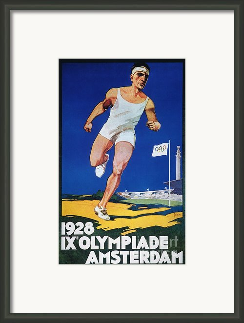 Olympic Games, 1928 Framed Print By Granger