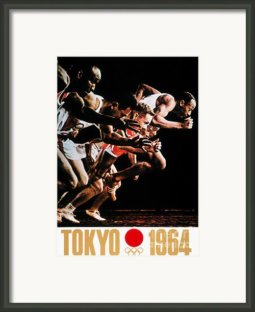Olympic Games, 1964 Framed Print By Granger