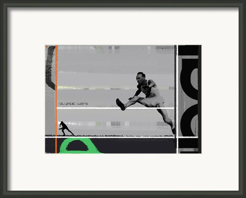 Olympic Wars Framed Print By Irina  March