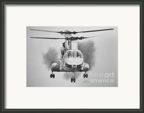 On Approach Framed Print By Stephen Roberson