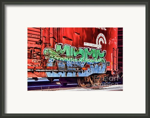 On That Train Framed Print By Chuck Alaimo