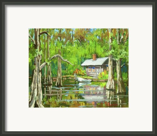 On The Bayou Framed Print By Dianne Parks