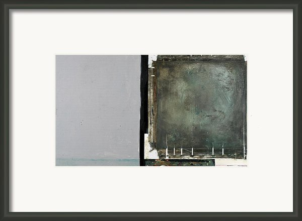 On The Right Track Framed Print By Michel  Keck