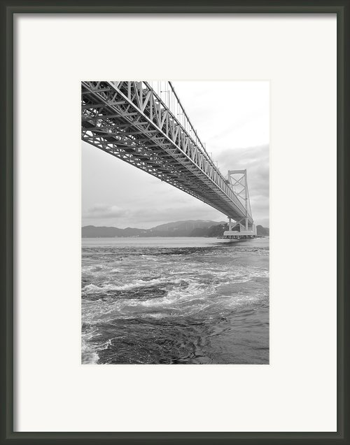 Onaruto Bridge Framed Print By Miguel Castaneda