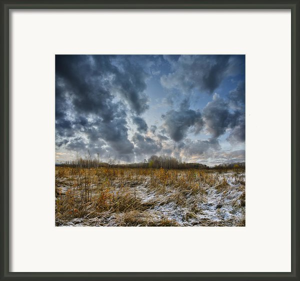 One Autumn Day Framed Print By Vladimir Kholostykh