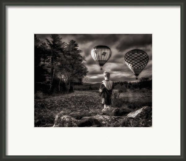 One Boys Dream Framed Print By Bob Orsillo