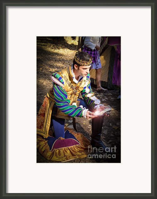 One Day My Prince Will Come Framed Print By Andee Photography