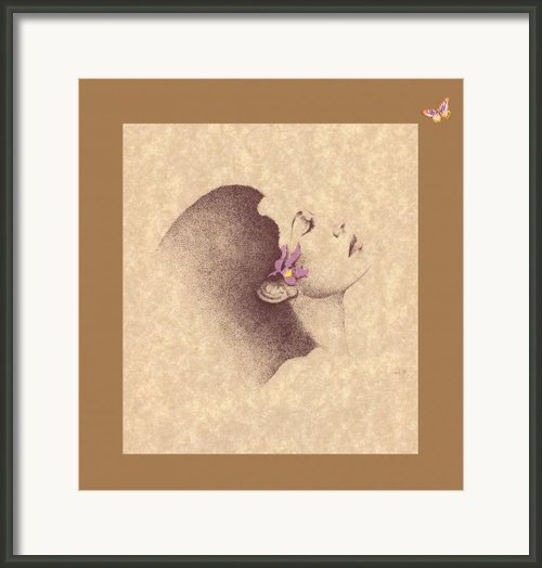 One Of A Kind Me  Framed Print By Albert Fennell